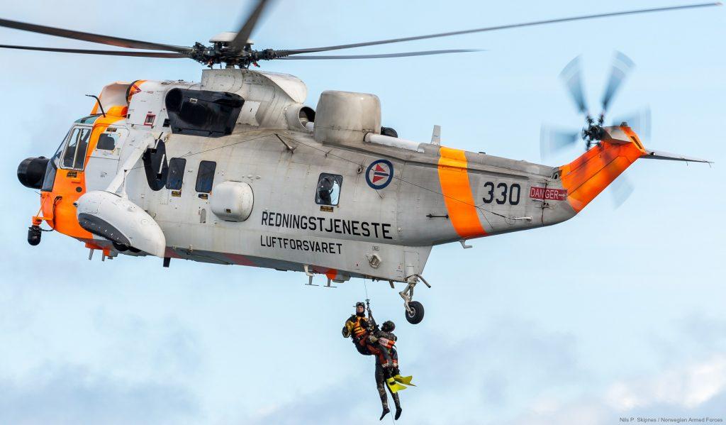Вертоліт «Sea King» ВПС Норвегії. Фото: seaforces.org
