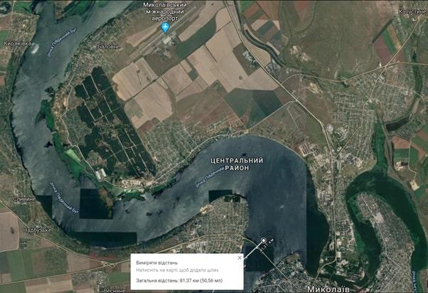 Центральний район міста Миколаїв