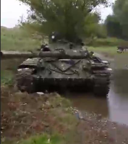 Трофеїзований у Мердінлі Т-72