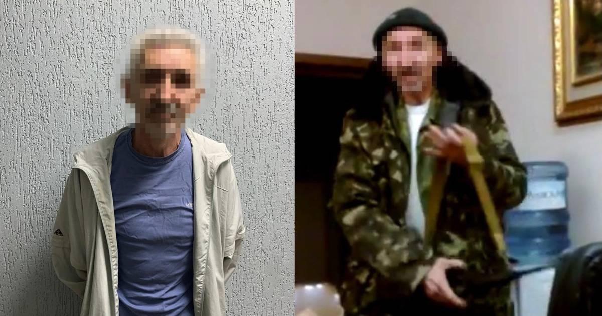 Затриманий бойовик «ЛНР»