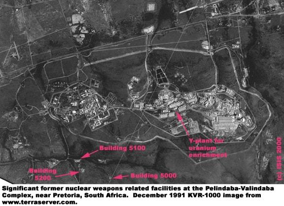 Загальний вигляд об'єктів Пеліндаба та Валіндаба в грудні 1991 року.