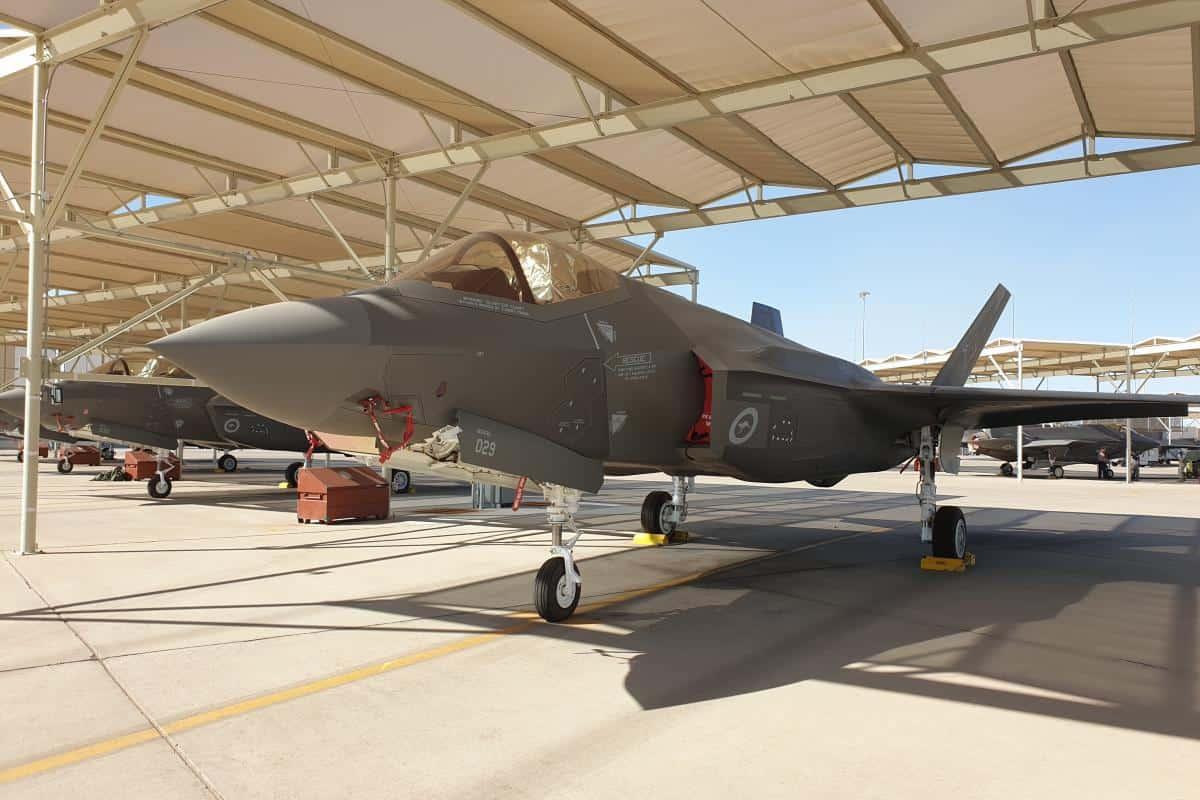 """Фото МО Австралії з підписом: """"30-й F-35A Lightning II"""". Вересень 2020"""