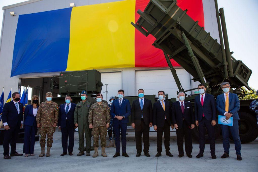 ЗРК «Patriot» для ЗС Румунії. Вересень 2020. Фото: МО Румунії