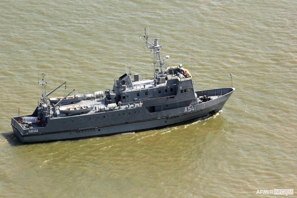 Навчальне судно «Сміла». Навчання Riverine-2020. Вересень 2020. Фото: АрміяInform
