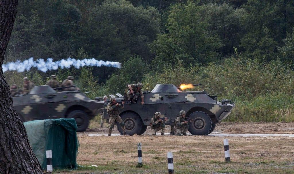 БРДМ-2 на навчаннях. Вересень 2020. Фото: АрміяІнформ