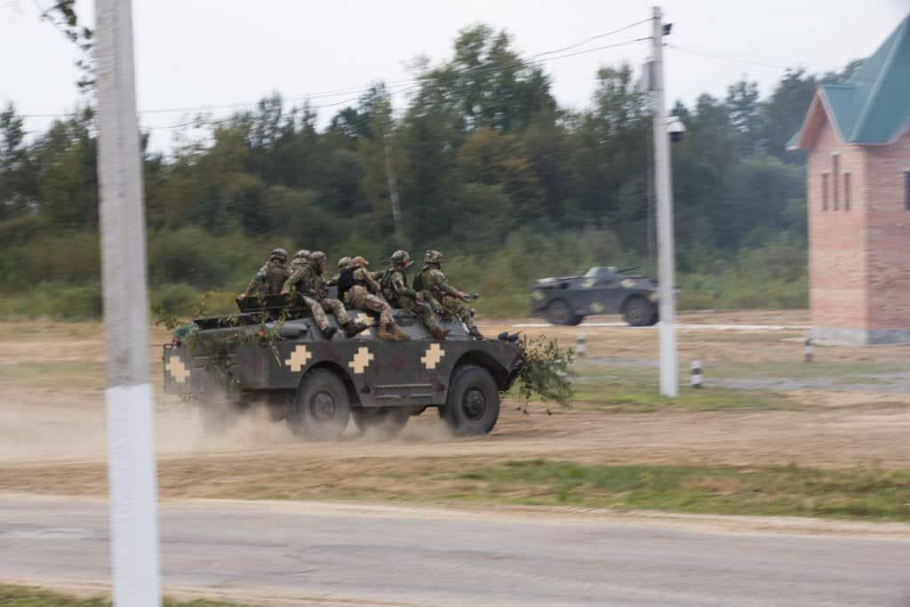 Навчання Rapid Trident. Вересень 2020. Фото: АрміяІнформ