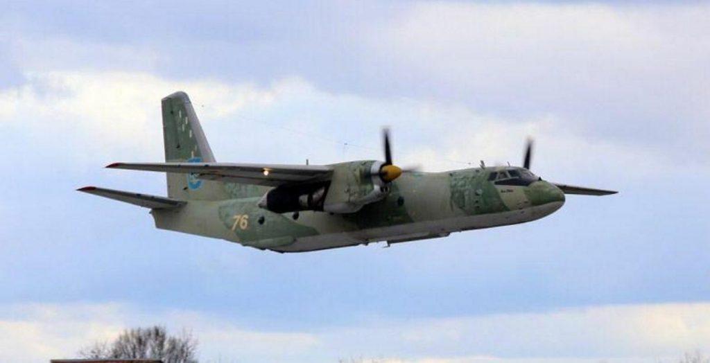 Літака ЗСУ Ан-26 з бортовим номером 76. Фото з відкритих джерел