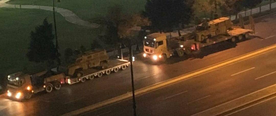 Підірвані на мінах бронемашини MRAP Matador