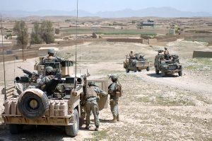 Англійські та американські солдати в Афганістан