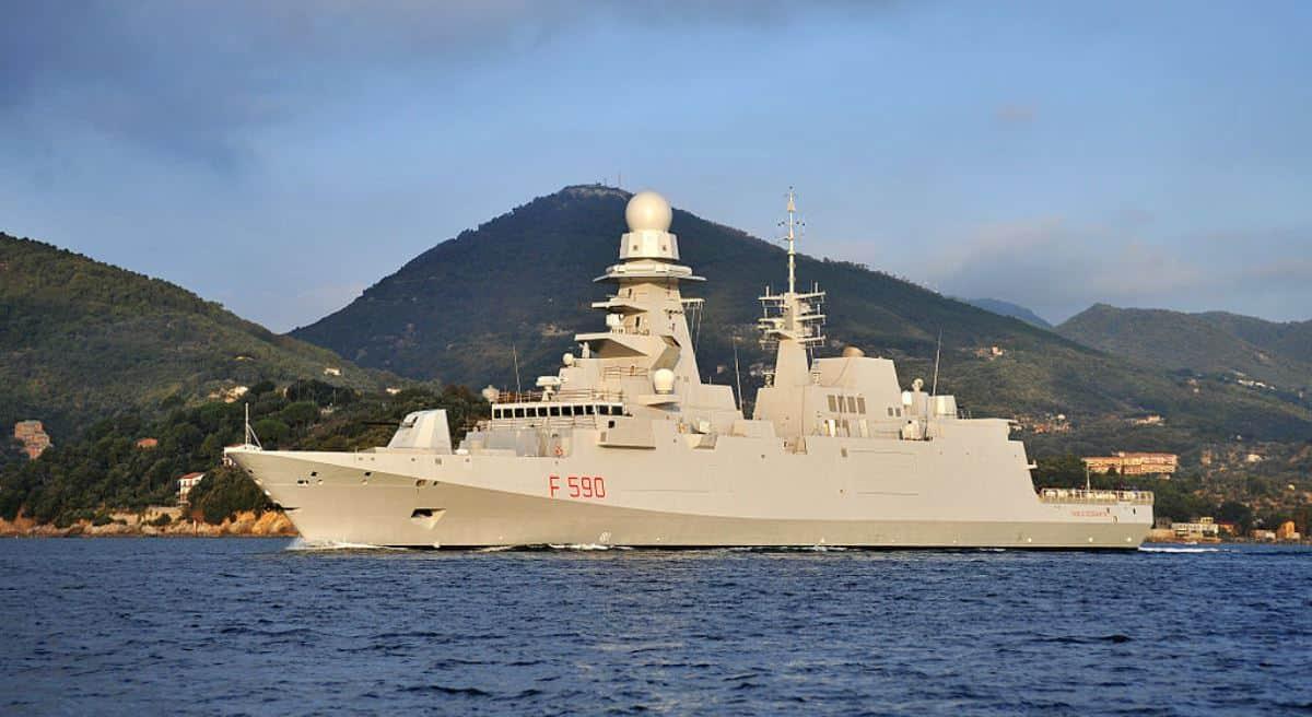 Корабель типу FREMM. Фото з відкритих джерел