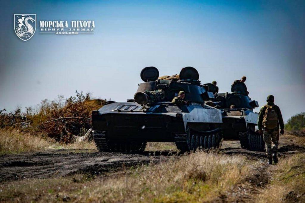 САУ 2С1 «Гвоздика» Морської піхоти ЗСУ. Жовтень 2020. Фото: МП ЗСУ