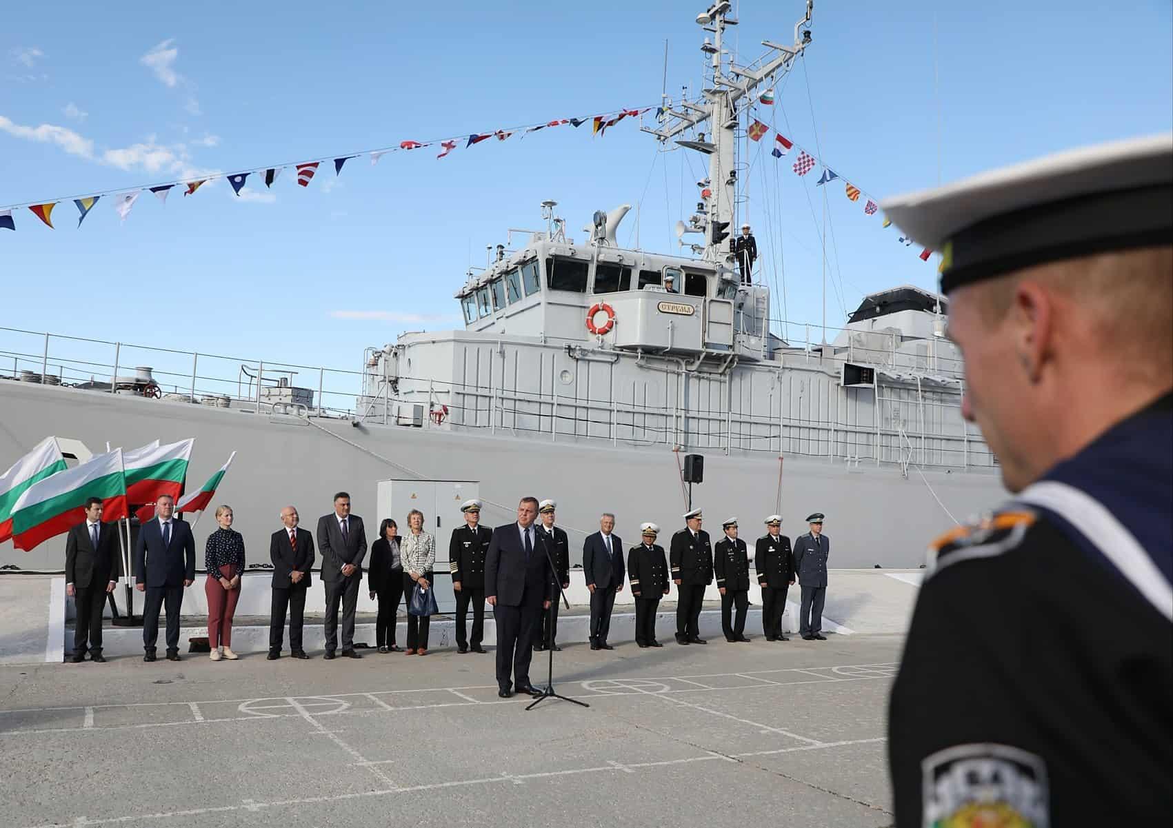 """Корабель """"Струма"""". Жовтень 2020. Фото: МО Болгарії"""