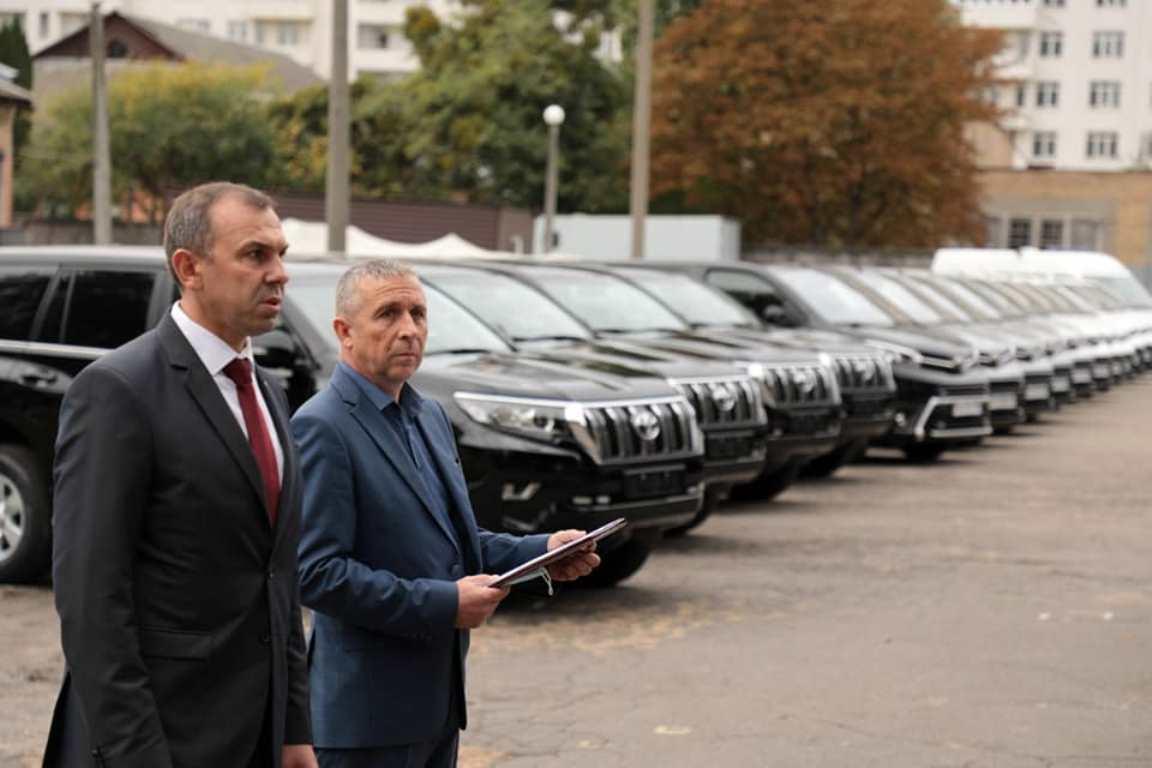 Нові автомобілі для УДО. Жовтень 2020. Фото: Управління державної охорони