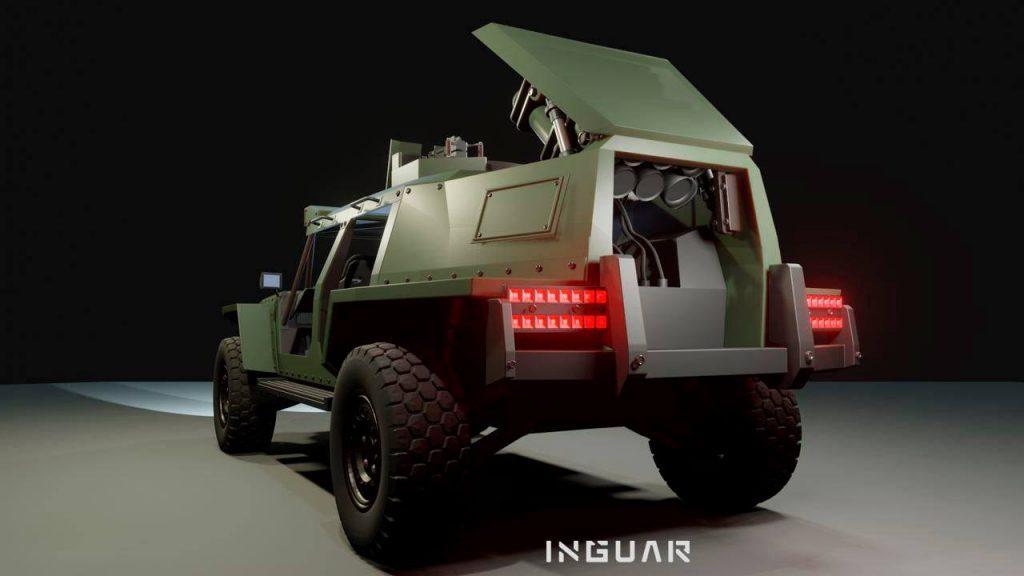 Концепт легкої тактичної колісної бойової машини від КВП «Inguar»
