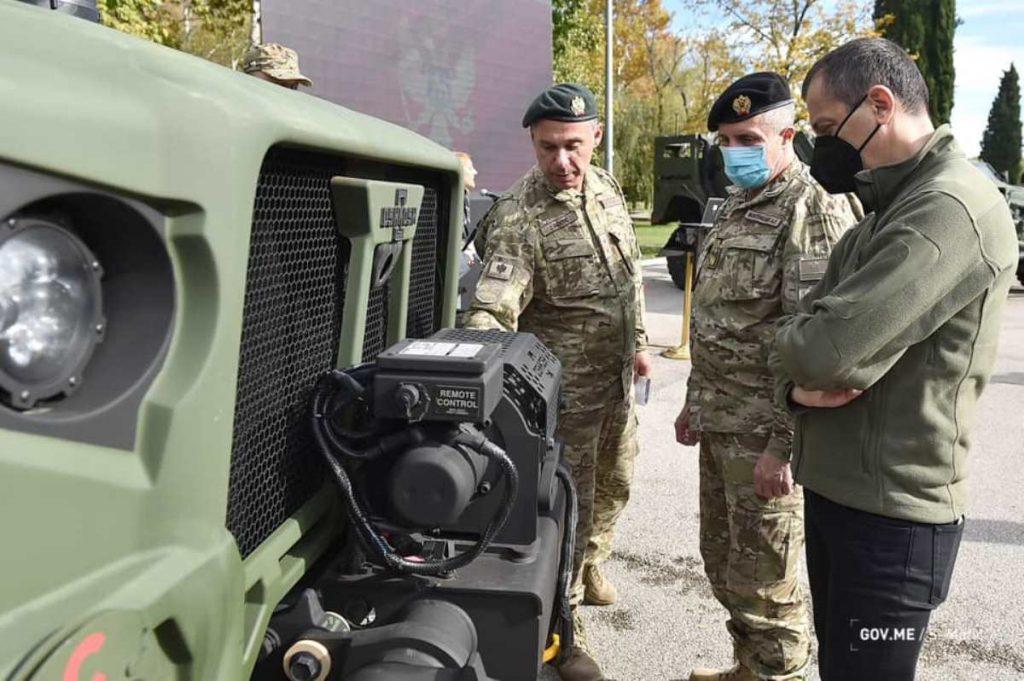 Бронемашини JLTV Чорногорії від Oshkosh Defence. Жовтень 2020. Фото: МО Чорногорії