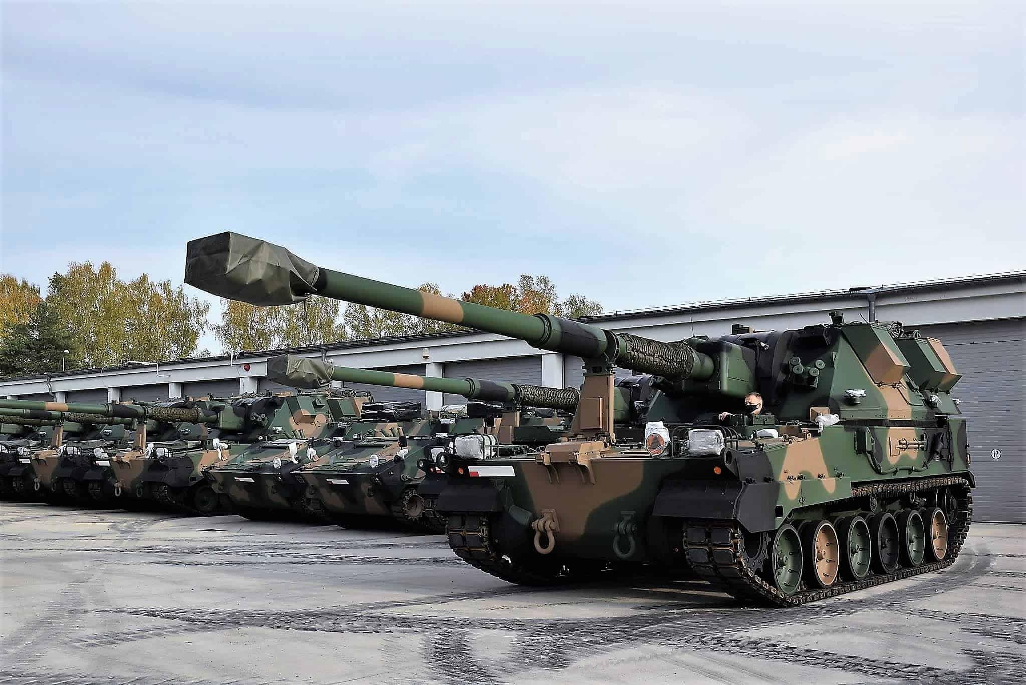 155-мм САУ Krab