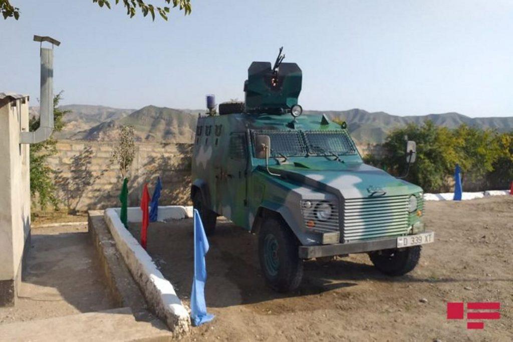 Відновлення прикордонної застави на кордоні з Іраном. Жовтень 2020. Фото: ЗМІ Азербайджану