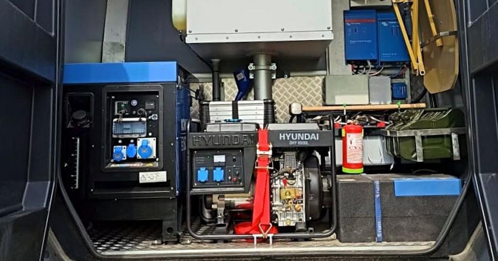Мобільний тепловізійний комплекс на базі спеціальних автомобілів TORSUS PRAETORIAN. Фото: ДПСУ