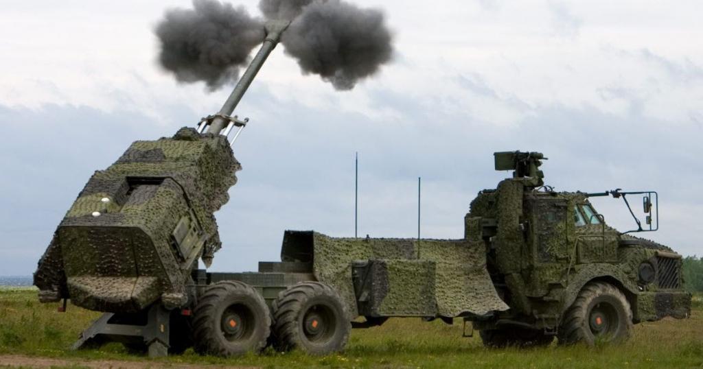155-мм самохідна гаубиця. Фото: з відкритих джерел
