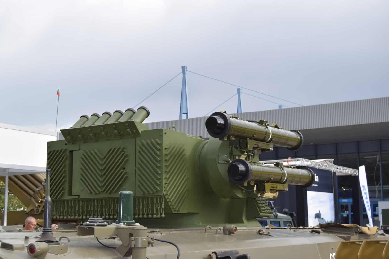 Бойовий модуль «Стилет» з гарматою ЗТМ-2 вид ззаду