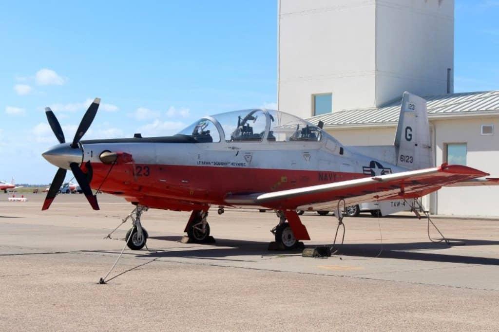 У США розбився літак військових. Фото: Літак T-6B Texan. Фото з відкритих джерел
