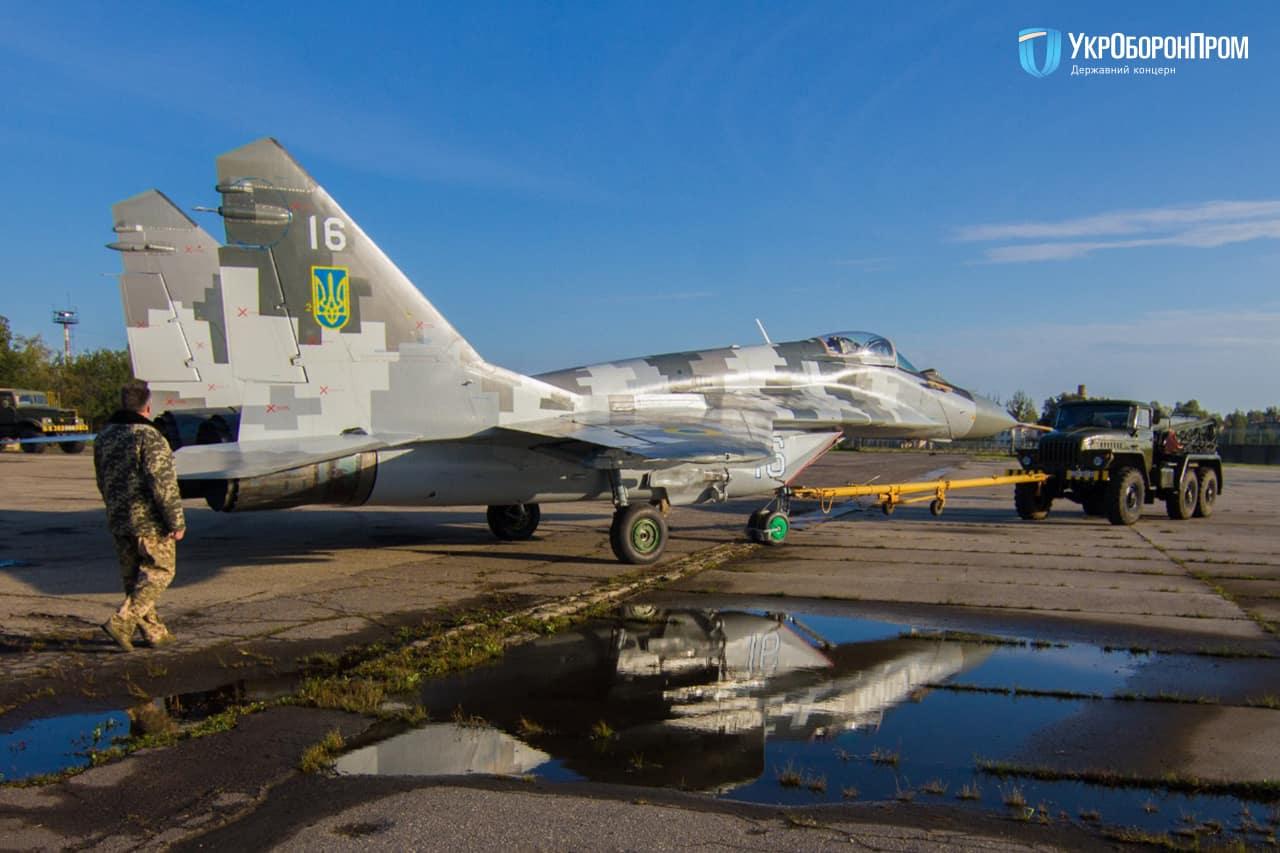 До Повітряних Сил надійшов модернізований МіГ-29МУ1