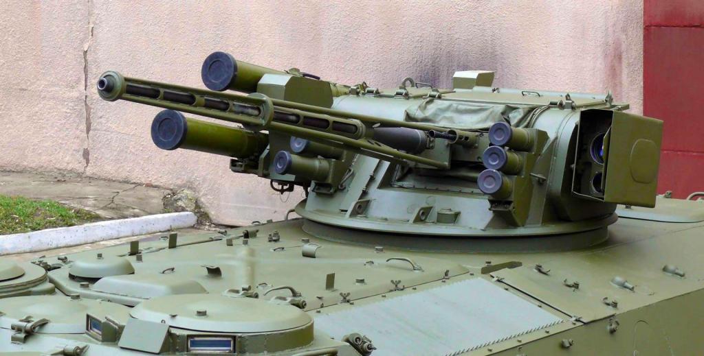 Гармата ЗТМ-1 на бойовому модулі «Штурм»