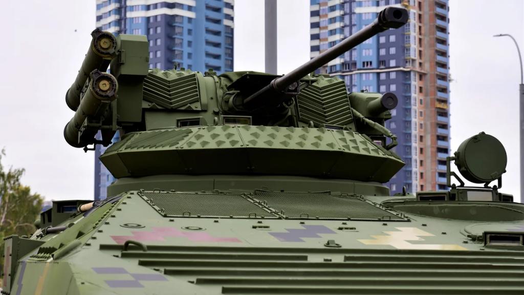 Гармата ЗТМ-2 на бойовому модулі «Стилет»