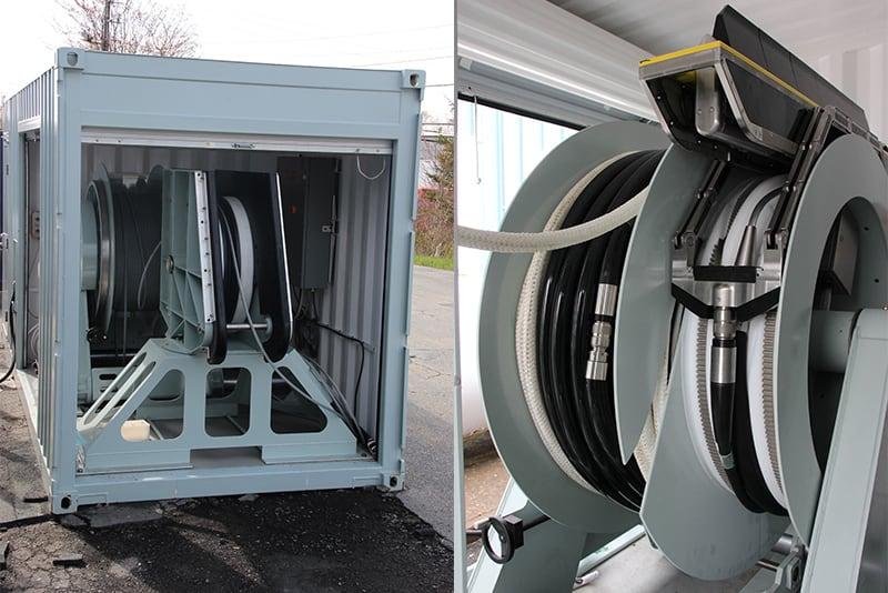 Гідроакустична станція TRAPS від GeoSpectrum Technologies контейнерного типу