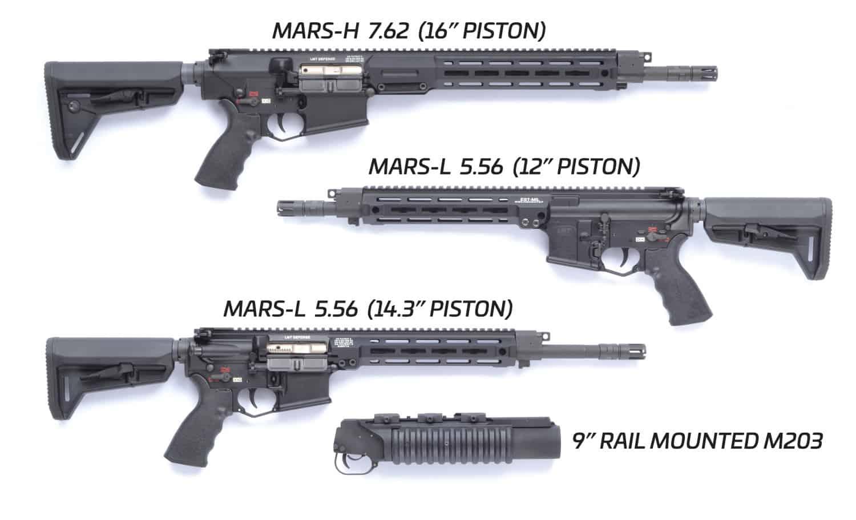 Гвинтівки від компанії LMT для сил оборони Естонії