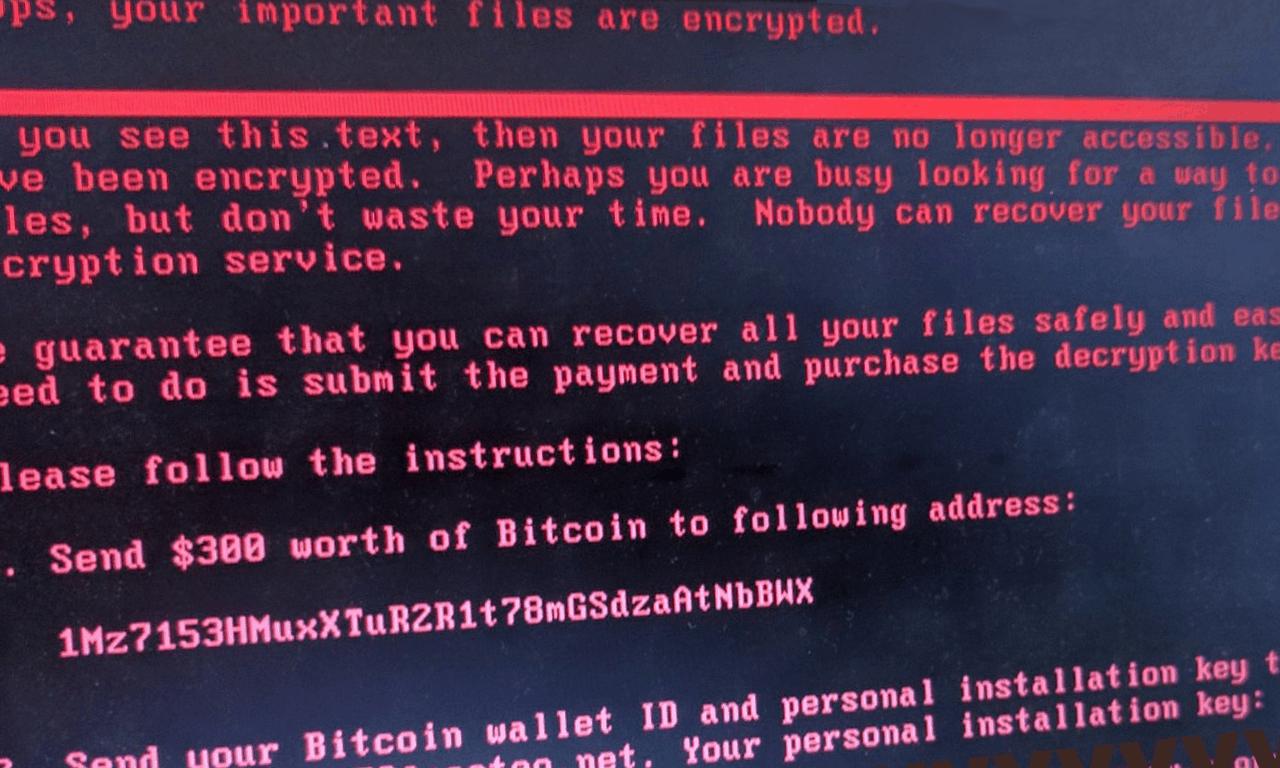 Комп'ютерний вірус NotPetya