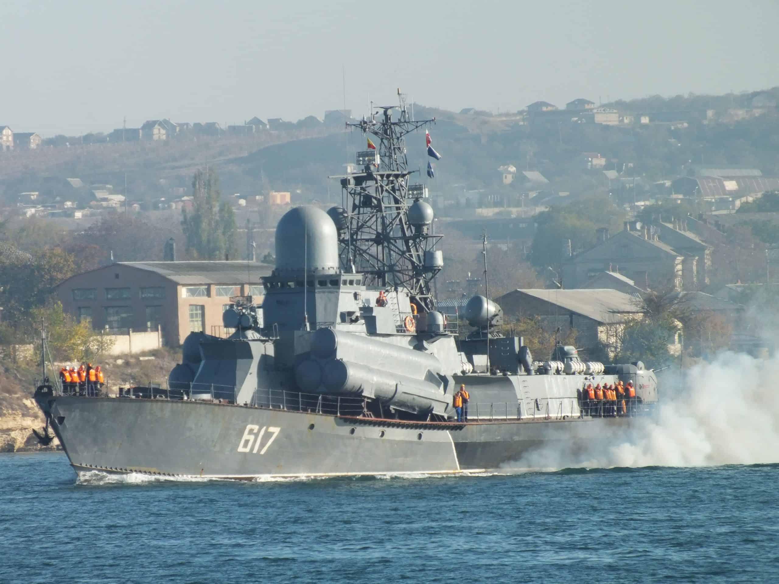 Малий ракетний корабель «Мираж» проєкту 12341