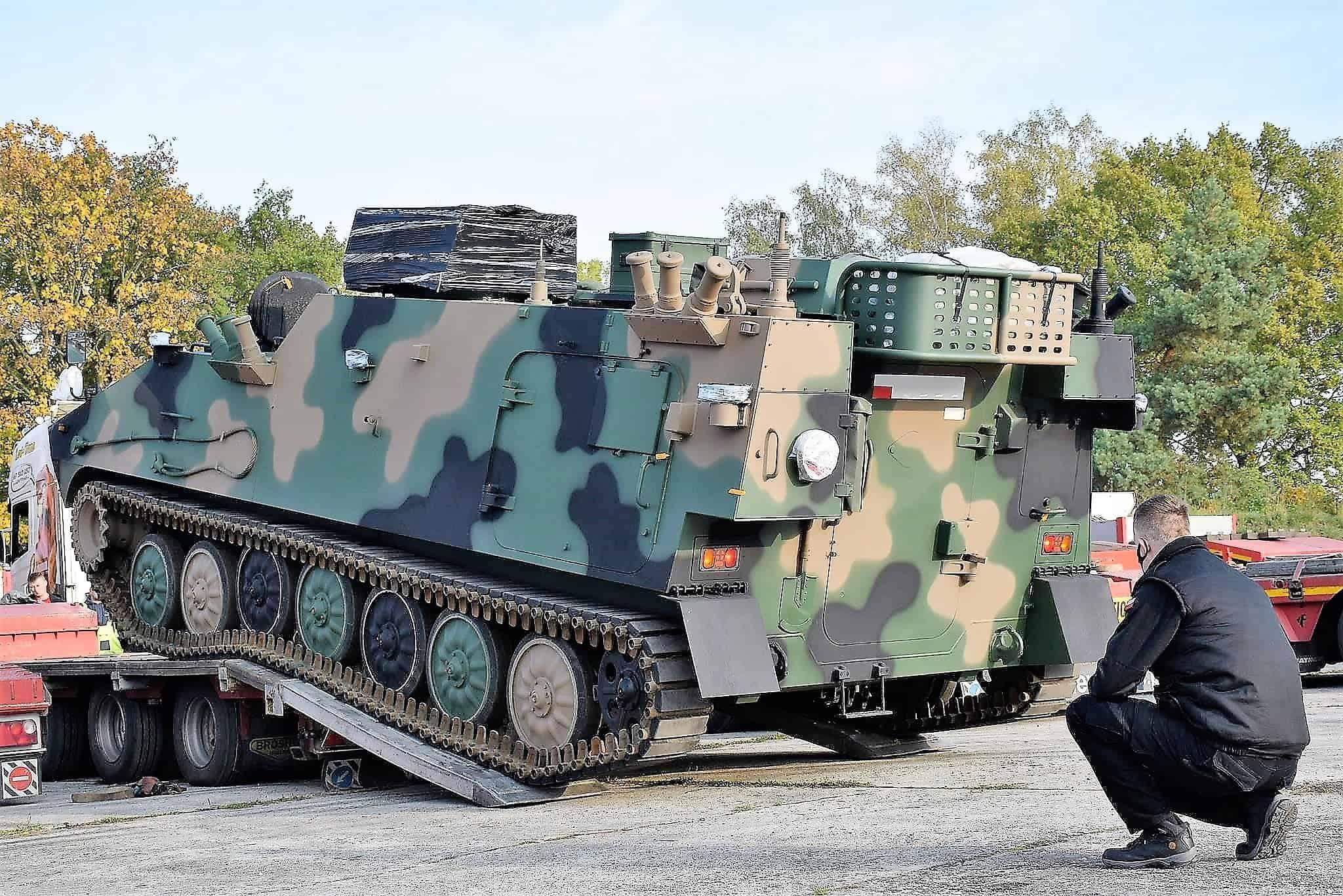 Машина управління вогнем артилерії до 155-мм САУ Krab