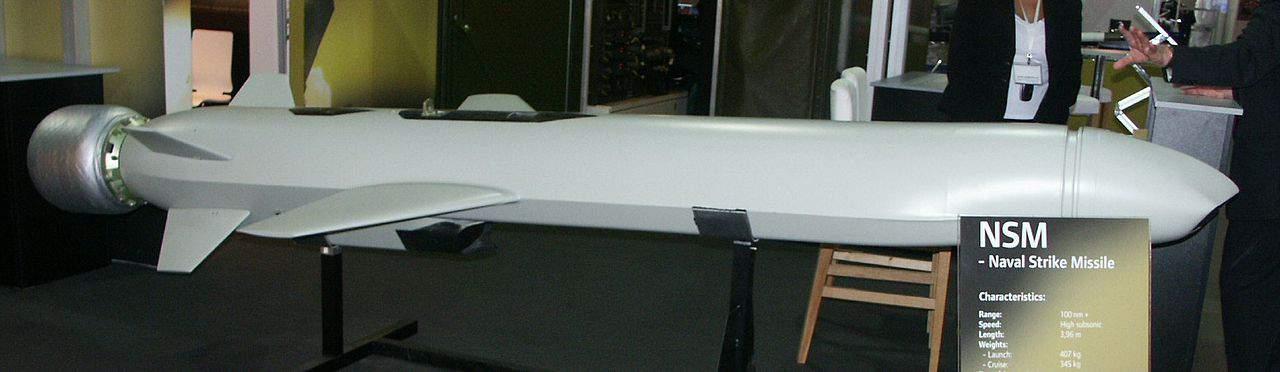 NSM (Naval Strike Missile) компанії Kongsberg Defence & Aerospace