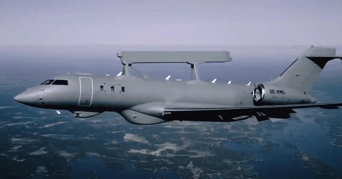 AWACS «GlobalEye» Фото: Saab