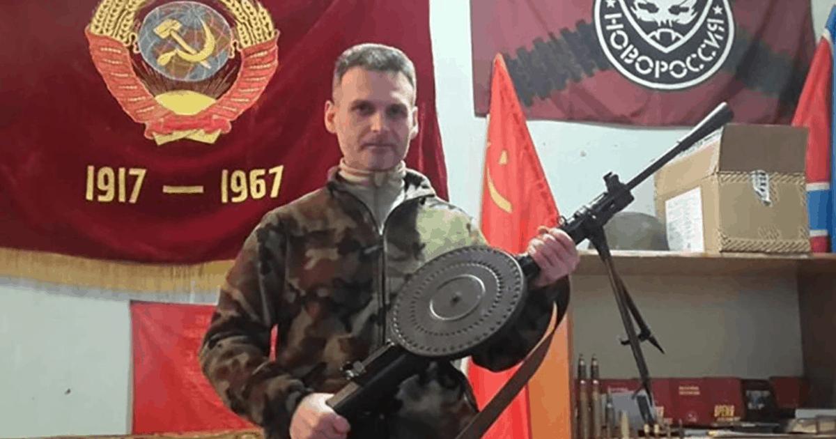 Олексій Марков, російський командир незаконного збройного формування (НЗФ) окупаційних сил Росії «Призрак»