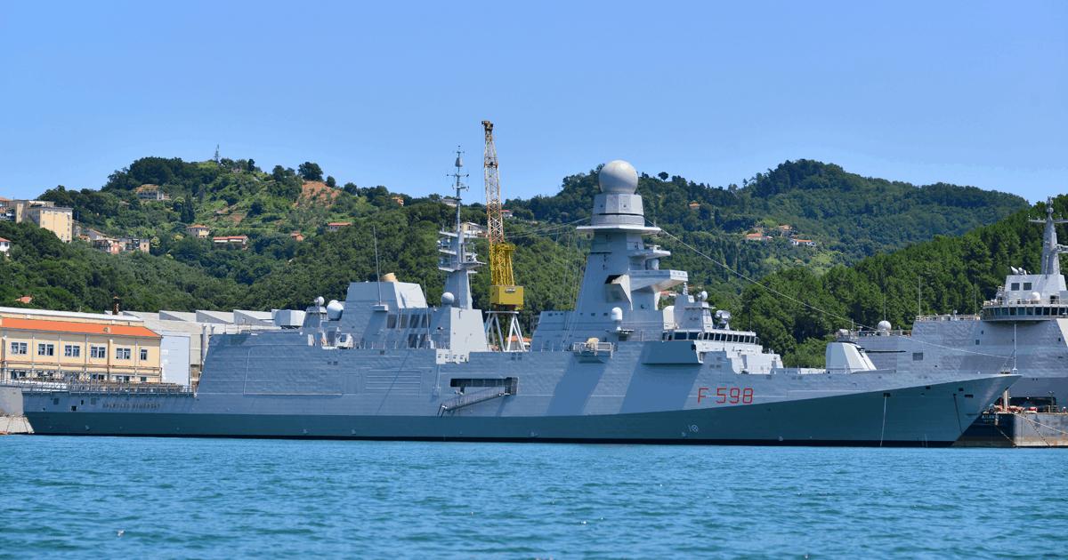 Корабель F598 Spartaco Schergat типу FREMM. Фото з відкритих джерел