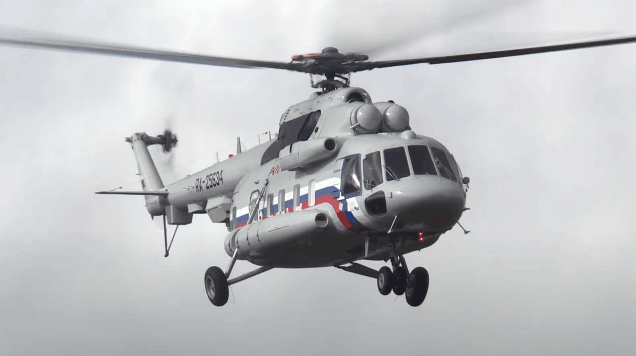 Вертоліт Мі-8МТВ-1. 2017 рік. Фото: З відкритих джерел