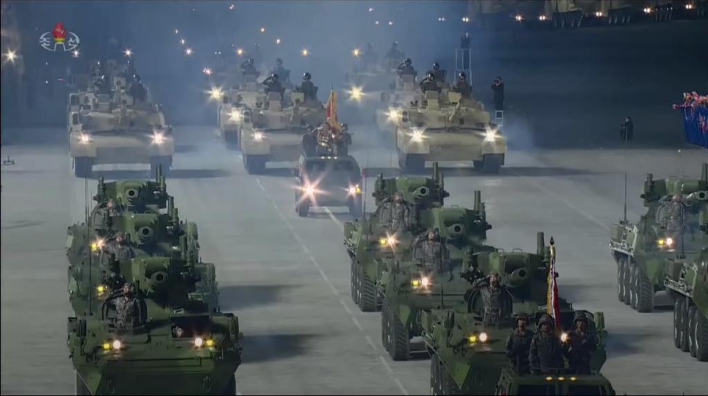 Військовий парад. Жовтень 2020.