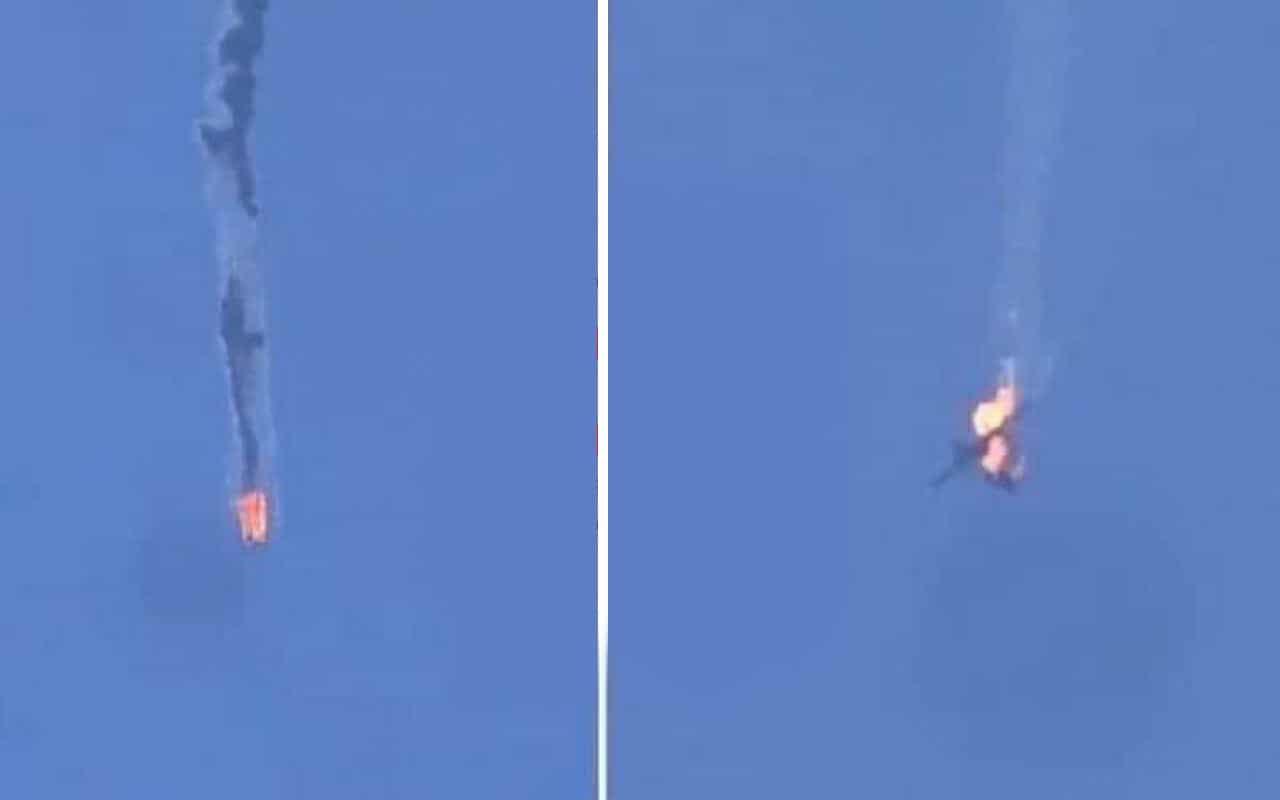 Азербайджан заявляет о сбивания двух Су-25 ВС Армении