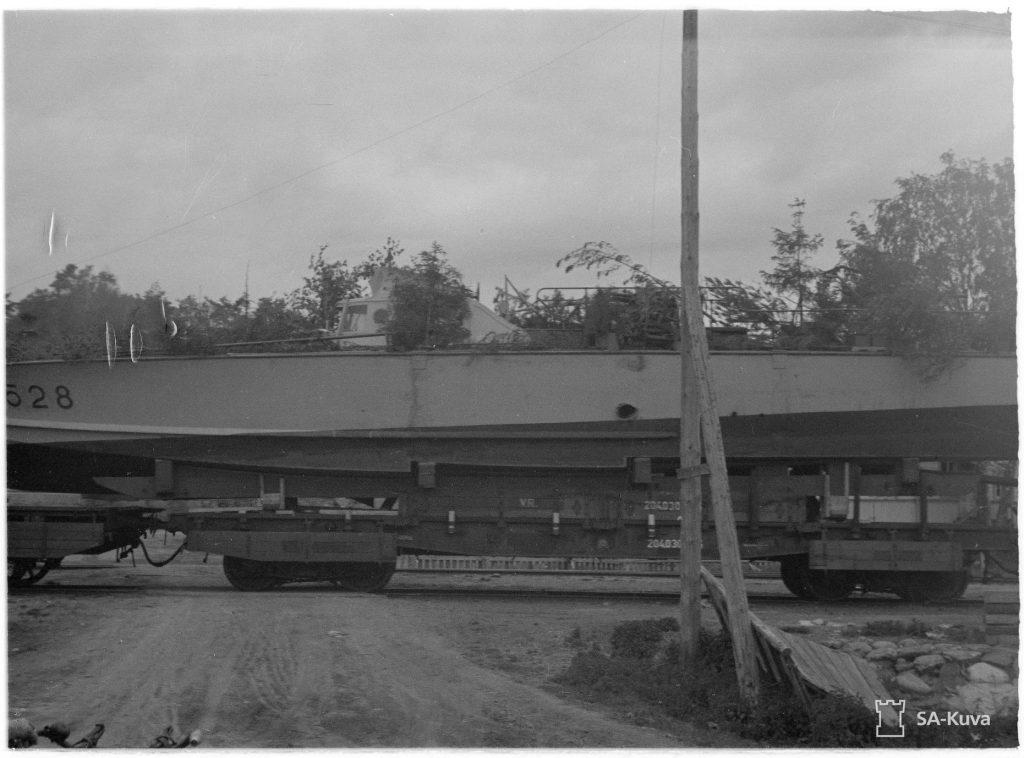 Транспортування залізницею катерів типу MAS