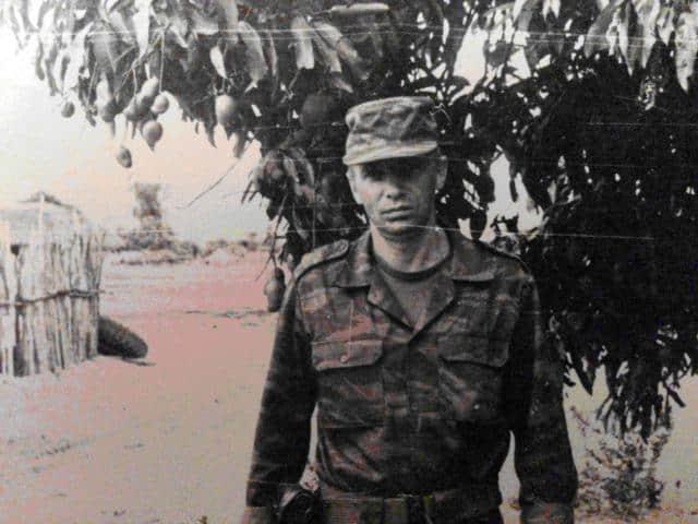 Валерій Забіяка у Анголі 1