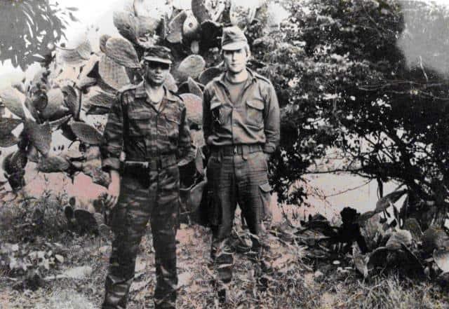 Валерій Забіяка у Анголі