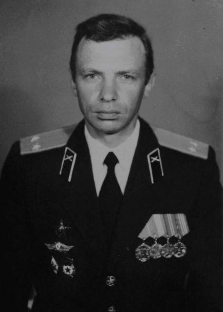Валерій Забіяка у формі підполковника
