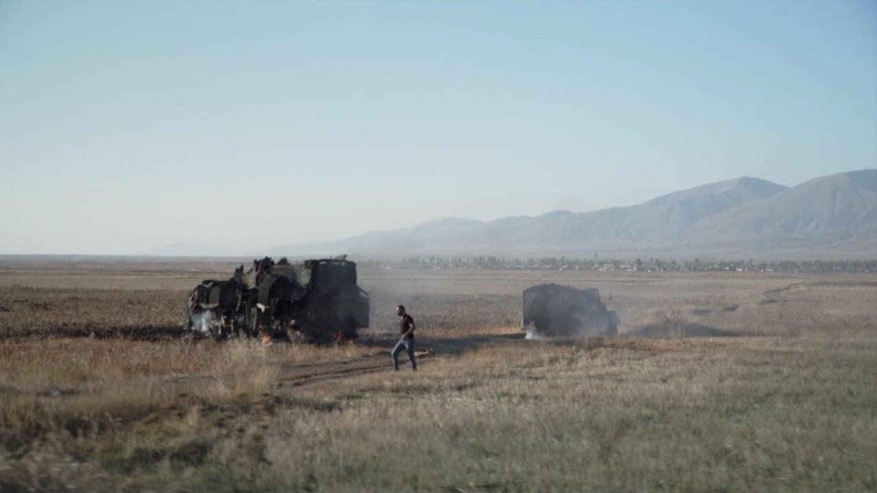 Знищена пускова установка ракетного комплексу «Ельбрус»