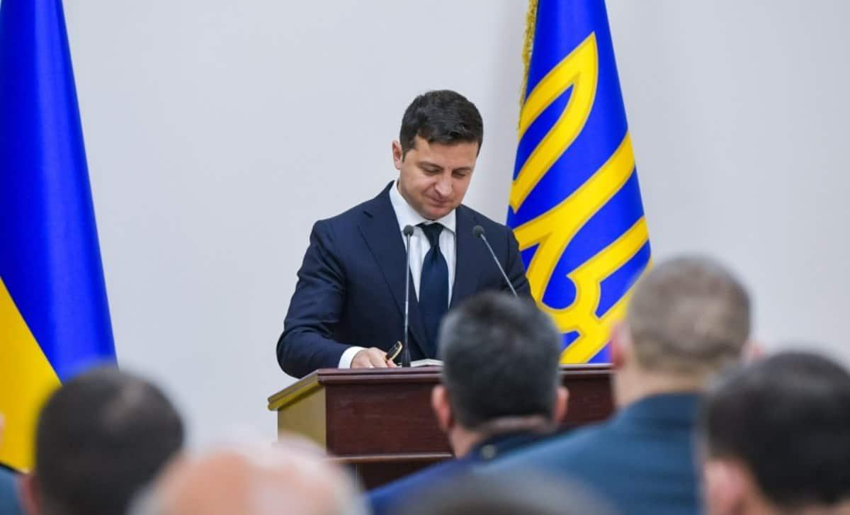 Набув чинності закон про розвідку України. Фото: Президент України Володимир Зеленський