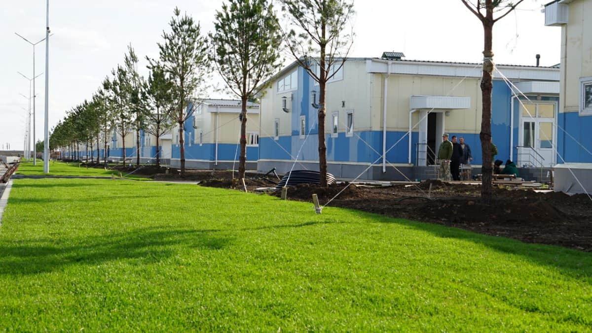 Будівництво на «Широкому Лані» завершено на 90 відсотків. 235 міжвидовий центр підготовки військових частин та підрозділів або просто «Широкий лан». Фото: АрміяInform