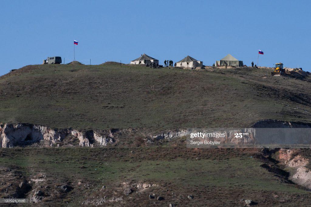 Російські військові біля села Тех у Вірменії. Жовтень 2020. Фото: Сергій Бобильов