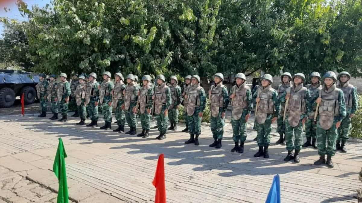 Прикордонники Азербайджану на відновленій території. Жовтень 2020. Фото: ЗМІ Азербайджану