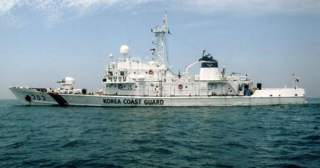 Колишній патрульних катери ВМС Кореї класу «Haeuri» з номером 303